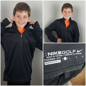 Youth Large Nike Golf Pullover